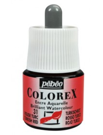 WATERCOLOR INK COLOREX 45ML TURKISH RED