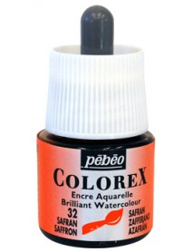 WATERCOLOR INK COLOREX 45ML SAFRAN