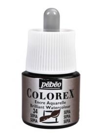 WATERCOLOR INK COLOREX 45ML SEPIA
