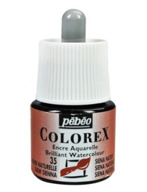 WATERCOLOR INK COLOREX 45ML RAW SIENNA