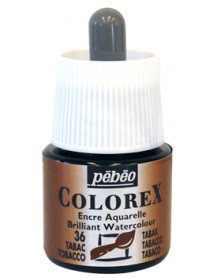WATERCOLOR INK COLOREX 45ML TOBACCO