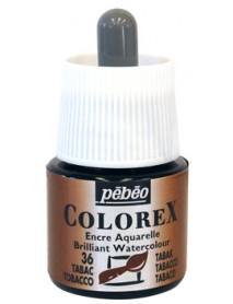 WATERCOLOR INK COLOREX 45ML TOBACCO