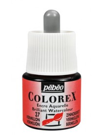 WATERCOLOR INK COLOREX 45ML VERMILION