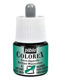 WATERCOLOR INK COLOREX 45ML FIREFLY GREEN