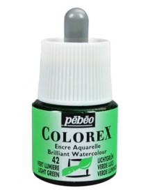 WATERCOLOR INK COLOREX 45ML LIGHT GREEN