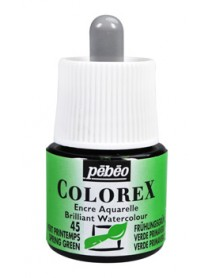 WATERCOLOR INK COLOREX 45ML SRING GREEN