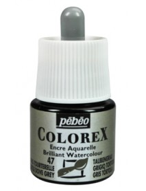 WATERCOLOR INK COLOREX 45ML TURTLE DOVE-GREY