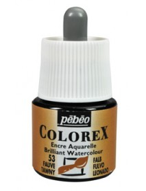 WATERCOLOR INK COLOREX 45ML FAWN