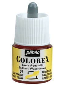 WATERCOLOR INK COLOREX 45ML PRIMARY YELLOW