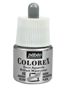 WATERCOLOR INK COLOREX 45ML SILVER