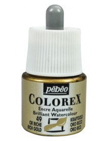 WATERCOLOR INK COLOREX 45ML RICH GOLD