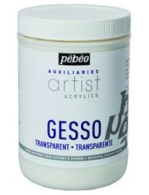 ACRYLIC TRANSPARENT GESSO 1L