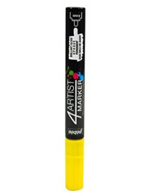 4ARTIST MARKER 4MM YELLOW