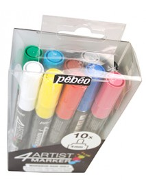 4ARTIST MARKERS SET 10X4MM