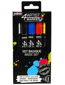 4ARTIST MARKER SET 5X4MM BASIC