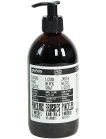 BLACK OLIVE OIL FOR BRUSHES LIQUID 500ML