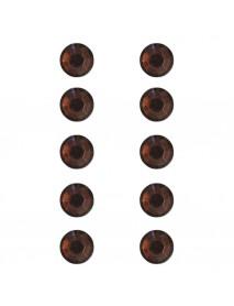 ΣΤΡΑΣ ΠΛΑΣΤΙΚΑ ΑΥΤΟΚ. 80ΤΕΜ 5MM  medium brown