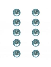 ΣΤΡΑΣ ΠΛΑΣΤΙΚΑ ΑΥΤΟΚ. 80ΤΕΜ 5MM turquoise