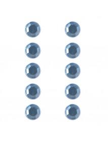 ΣΤΡΑΣ ΠΛΑΣΤΙΚΑ ΑΥΤΟΚ. 80ΤΕΜ 5MM light blue