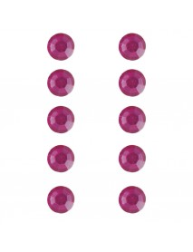 ΣΤΡΑΣ ΠΛΑΣΤΙΚΑ ΑΥΤΟΚ. 80ΤΕΜ 5MM pink