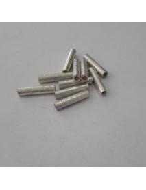 ΧΑΝΤΡΑ 100% ΑΣΗΜΙ (925ο) 15X3MM silver tube
