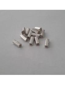 ΧΑΝΤΡΑ 100% ΑΣΗΜΙ (925ο) 7X3X3MM silver cube