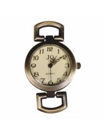 Metal- clockwork 2.6cm oxidized gold