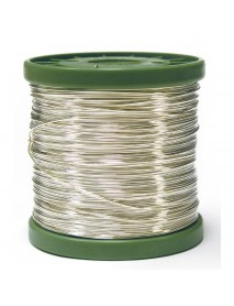 SILVER PLATED WIRE 0.6MM 400M