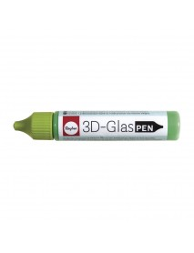 3D GLASSDECOR PEN 30ML MAY-GREEN