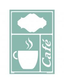 STENCIL SOFT ΑΥΤΟΚΟΛΛΗΤΟ A5, CAFE