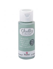 Chalky Finish for glass, mint green, bottle 59ml
