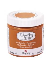 Chalky Finish, dark orange 118ml