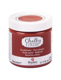 Chalky Finish, rust 118ml