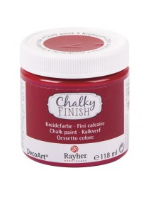 Chalky Finish, classical red 118ml