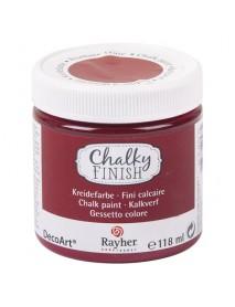 Chalky Finish, burgundy 118ml