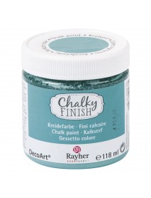 Chalky Finish, Indian turquoise, Can 118ml