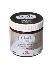 Chalky Finish creme wax, dark brown 118ml