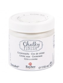 Chalky Finish creme wax, colourless 118ml