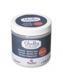Chalky Finish clear varnish soft-touch 236ml