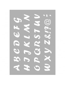 STENCIL ΕΠΑΝΑΤΟΠΟΘΕΤΙΣΗΣ A5 capital letters 210x148mm