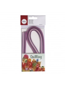 Paper for Quilling, violet 50x0.3cm, 110 g/m2100pc