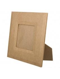 ΚΟΡΝΙΖΑ ΒΑΣΗ ΚΑΙ ΚΡΕΜΑΣΤΡΑΚΙ papier-mache 18x18x1cm