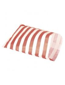 ΧΑΡΤΙΝΑ ΣΑΚΟΥΛΑΚΙΑ ΦΑΓΗΤΟΥ ΓΙΑ ΠΑΡΤΥ 25ΤΕΜ Red striped