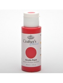 CRAFTER'S CHOICE ACRYLIC 59ML CARMINE