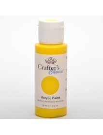 CRAFTER'S CHOICE ACRYLIC 59ML PALE YELLOW