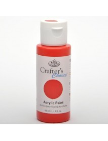 CRAFTER'S CHOICE ACRYLIC 59ML BRIGHT RED