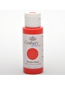 CRAFTER'S CHOICE ACRYLIC 59ML SCARLET