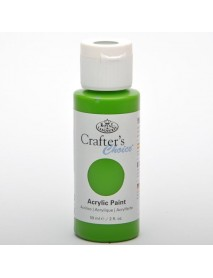 CRAFTER'S CHOICE ACRYLIC 59ML GREEN YELLOW