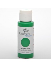 CRAFTER'S CHOICE ACRYLIC 59ML MID GREEN