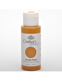 CRAFTER'S CHOICE ACRYLIC 59ML YELLOW OXIDE TRANSP